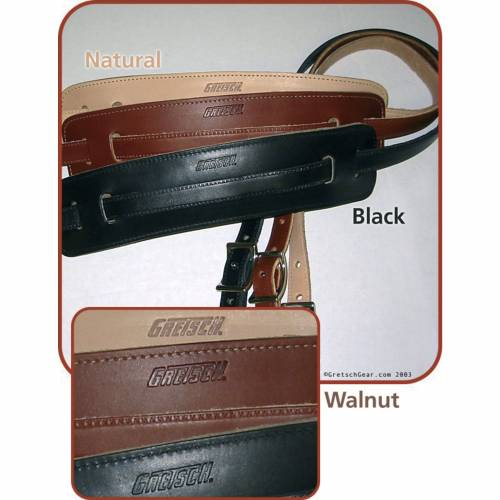Gretsch - Gitarrengurt Vintage Leather Walnut