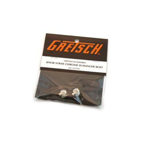 Gretsch - Gurtknopf inkl. Schraube Chrome, 2 Stück
