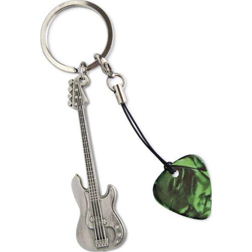 Grover Allman - Schlüsselanhänger Bass Gitarrenanhänger + Pick