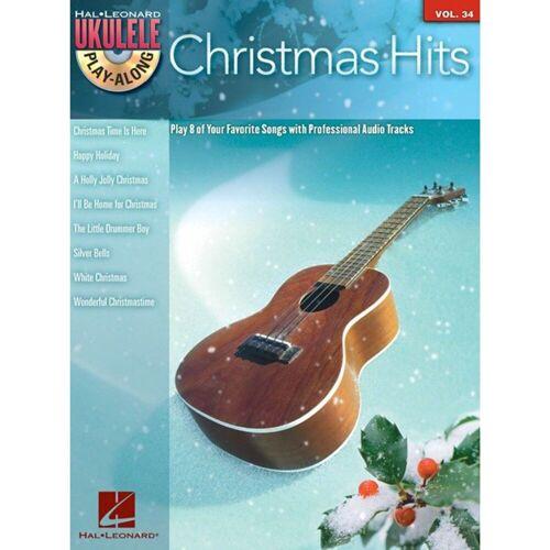 Hal Leonard - Ukulele Play-Along: Christmas Hits Vol. 34, Ukulele mit CD