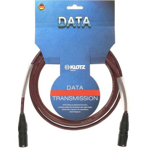 Klotz - CAT-Netzwerkkabel, 3 m etherCON - etherCON, black