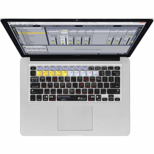 Magma - Keyboard Cover Ableton Live 9 für MacBook & MacBook Air