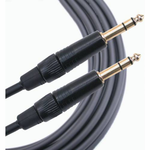 Mogami - Line Kabel, symmetrisch, 0,5 m Gold Serie, Kl. sym  Kl. sym