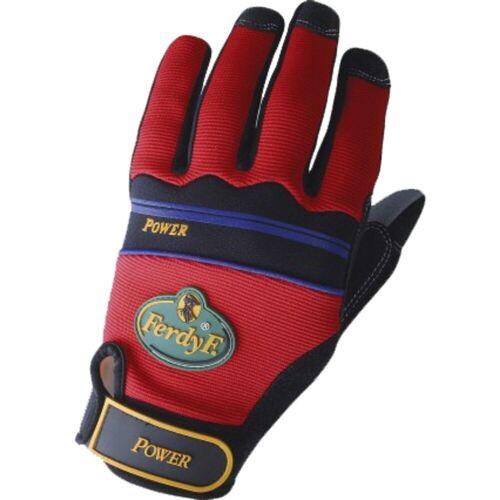 FerdyF. - Power Handschuhe, Größe S rot