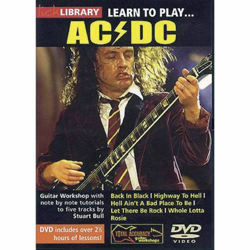 Roadrock International - Lick Library: Learn To Play AC/DC DVD