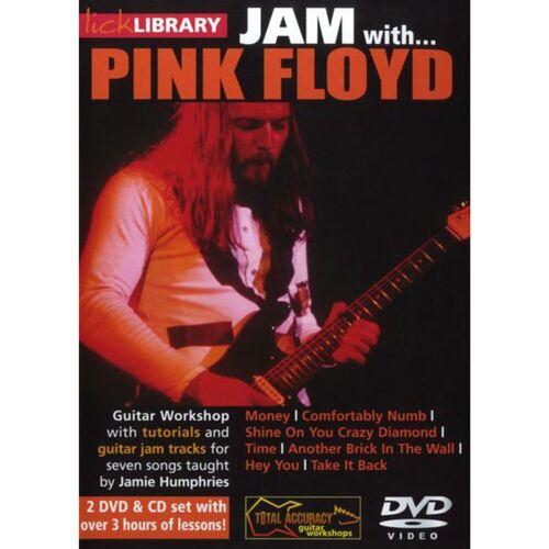 Roadrock International - Lick Library: Jam With Pink Floyd DVD, CD