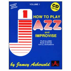 Jamey Aebersold - Aebersold: How To Play Jazz And Improvise Vol.1, inkl. CD
