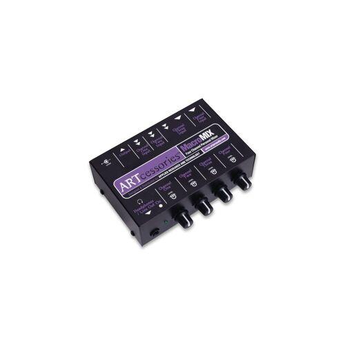 ART - MacroMix Kompakter 4-Kanal-Mixer