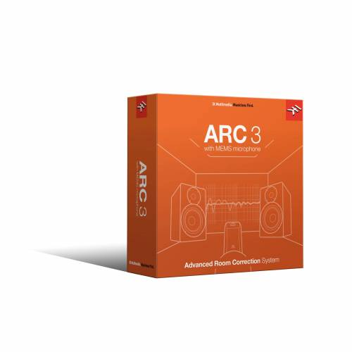 IK Multimedia - ARC System 3 incl. Mic Software Lautspr.Kalibrierung