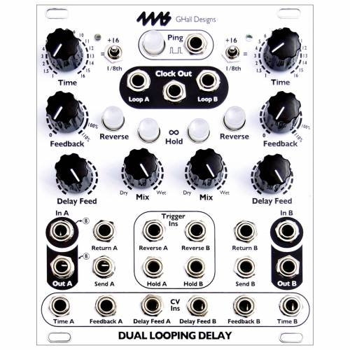 4ms - Dual Looping Delay