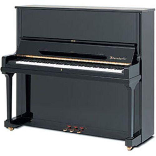 Bösendorfer - Pianino 130 Schwarz poliert