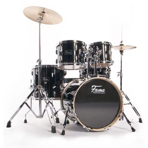 Fame - Maple Standard Jungle Set Schlagzeug #Black