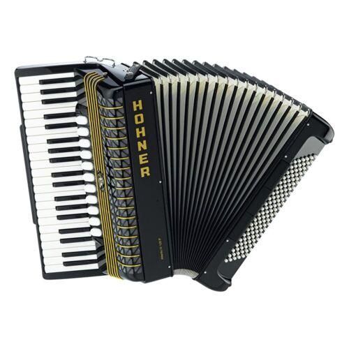 Hohner - Piano-Akkordeon Atlantic 120 Bass, IV-chörig, schwarz