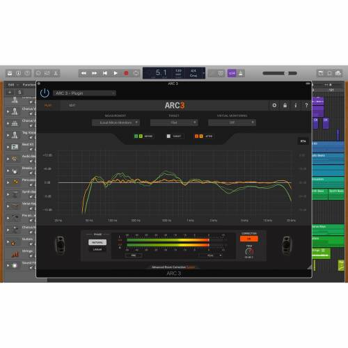 IK Multimedia - ARC System 3 - CROSSGRADE Software Lautspr.Kalibrierung