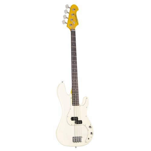 J & D - E-Bass PB Vintage 1963 Vintage White