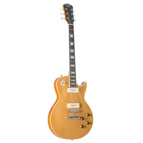 J & D - E-Gitarre LSC Gold Top P90
