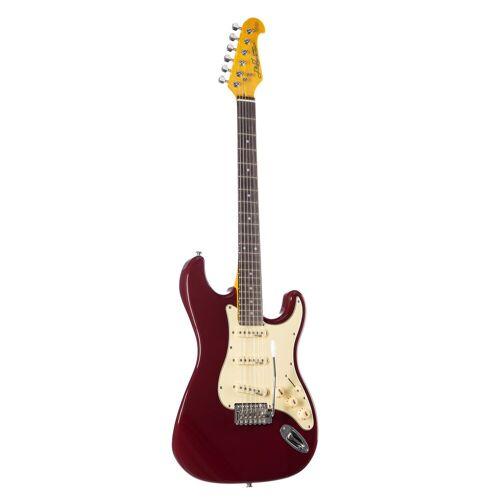J & D - E-Gitarre ST Vintage Red