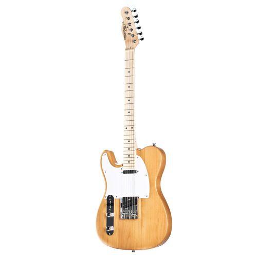 J & D - E-Gitarre TL Lefthand Natural