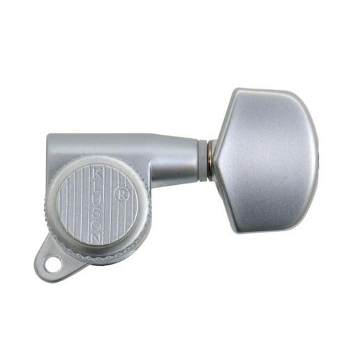 Kluson - MBS33SC Backlock Tuners 3+3 Satin Chrome