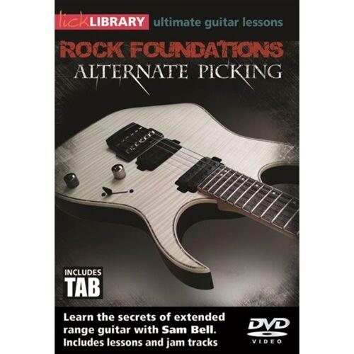 Roadrock International - Lick Library: Rock Foundations Alternate Picking DVD