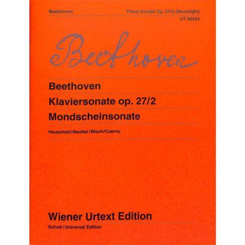 Wiener Urtext - Ludwig van Beethoven: Mondscheinsonate op.27/2
