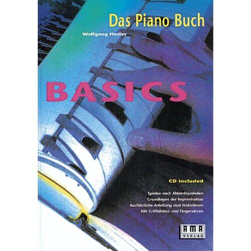 AMA Verlag - Piano Basics  Wolfgang Fiedler,inkl CD