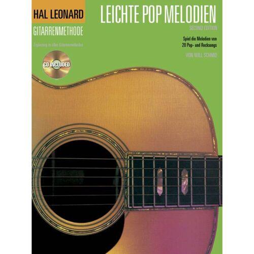 Bosworth Music - Hal Leonard Gitarrenmethode Leichte Pop Melodien