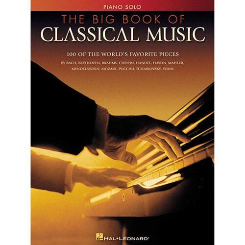 Hal Leonard - Big Book Of Classical Music Piano solo
