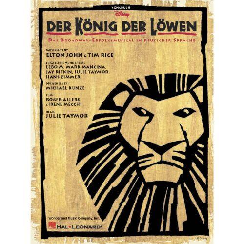 Hal Leonard - Der König der Löwen