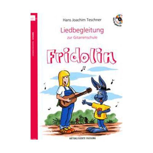 """Heinrichshofen - Liedbegleitung zur Gitarrenschule """"Fridolin"""""""