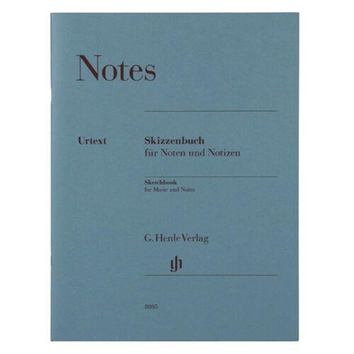 Henle Verlag - Notenheft DIN A4 Notes, Geschenkartikel
