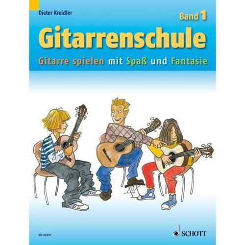 Schott Music - Gitarrenschule 1 D.Kreidler,Neufassung