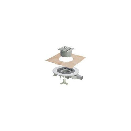 Viega Advantix Top-Bodenablauf mit Edelstahlrahmen Advantix-Bodenentwässerung X1 BH: 8,5 - 12 Aufsatz: 15 x 15 cm  669270