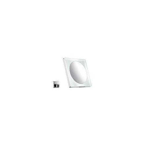 Emco LED AKKU Kosmetikspiegel eckig Kosmetikspiegel mit LED Beleuchtung chrom 109600122