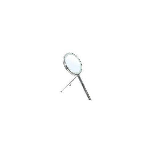 Bravat Kosmetikspiegel PEONIA mit LED-Beleuchtung Kosmetikspiegel H: 35 cm Ø 15 cm chrom 411510