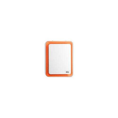 AEG Heizlüfter HS 207 O VH B: 23 T: 15 H: 30 cm weiß/orange 234829