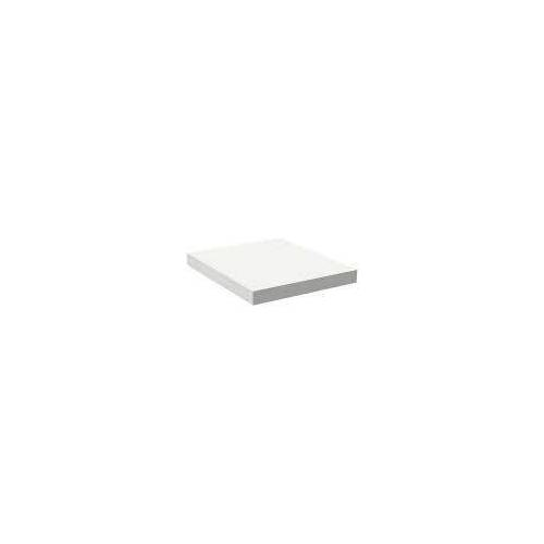 Alape Trägerplatte Firnis TP.FI525.450, ohne Beckenausschnitt 45 x 52,5 cm A system init B: 45 T: 52,5 H: 5 cm weiß brillant (firnis) 8581501645