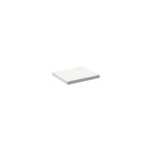 Alape Trägerplatte Firnis TP.FI525.600, ohne Beckenausschnitt 60 x 52,5 cm A system init B: 60 T: 52,5 H: 5 cm weiß brillant (firnis) 8581502645