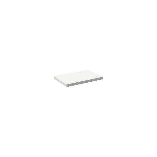 Alape Trägerplatte Firnis TP.FI525.800, ohne Beckenausschnitt 80 x 52,5 cm A system init B: 80 T: 52,5 H: 5 cm weiß brillant (firnis) 8581503645
