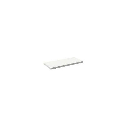 Alape Trägerplatte Firnis TP.FI525.1200, ohne Beckenausschnitt 120 x 52,5 cm A system init B: 120 T: 52,5 H: 5 cm weiß brillant (firnis) 8581507645