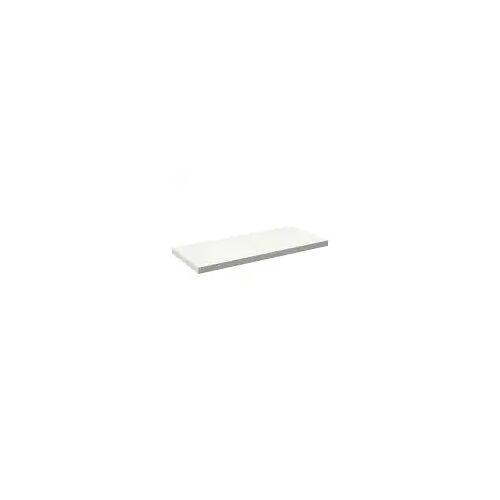 Alape Trägerplatte Firnis TP.FI525.1250, ohne Beckenausschnitt 125 x 52,5 cm A system init B: 125 T: 52,5 H: 5 cm weiß brillant (firnis) 8581508645