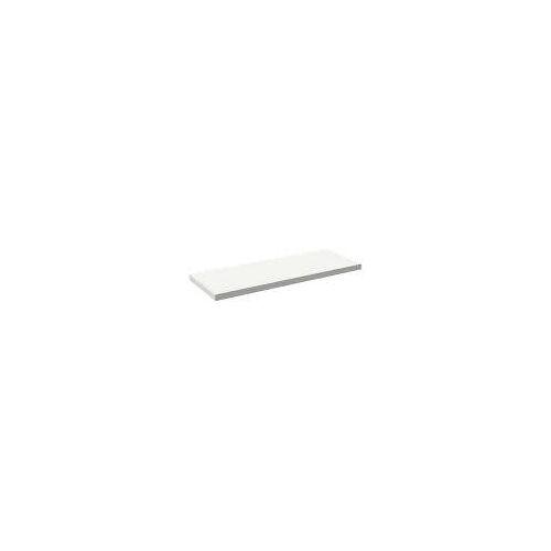 Alape Trägerplatte Firnis TP.FI525.1400, ohne Beckenausschnitt 140 x 52,5 cm A system init B: 140 T: 52,5 H: 5 cm weiß brillant (firnis) 8581510645