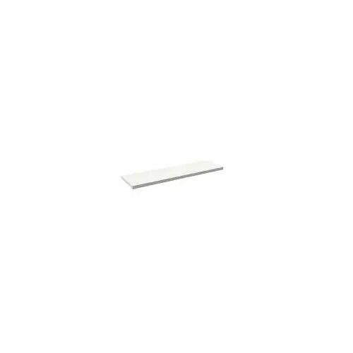 Alape Trägerplatte Firnis TP.FI525.1800, ohne Beckenausschnitt 180 x 52,5 cm A system init B: 180 T: 52,5 H: 5 cm weiß brillant (firnis) 8581516645