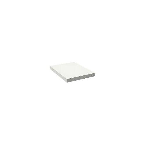 Alape Trägerplatte Firnis TP.FI600.450, ohne Beckenausschnitt 45 x 60 cm A system init B: 45 T: 60 H: 5 cm weiß brillant (firnis) 8581601645
