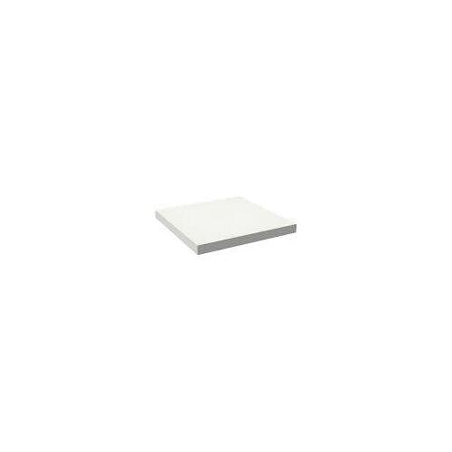 Alape Trägerplatte Firnis TP.FI600.600, ohne Beckenausschnitt 60 x 60 cm A system init B: 60 T: 60 H: 5 cm weiß brillant (firnis) 8581602645