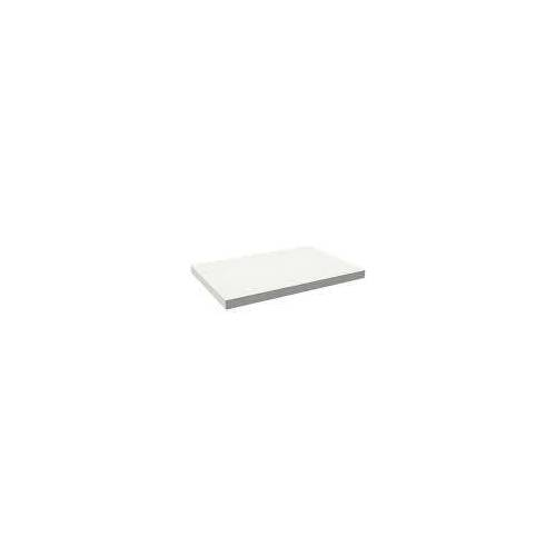 Alape Trägerplatte Firnis TP.FI600.900, ohne Beckenausschnitt 90 x 60 cm A system init B: 90 T: 60 H: 5 cm weiß brillant (firnis) 8581604645