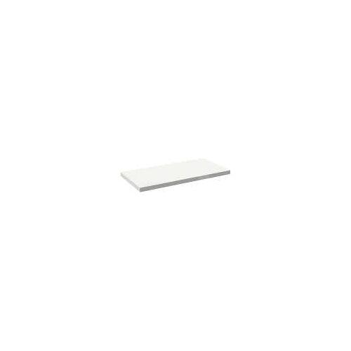Alape Trägerplatte Firnis TP.FI600.1250, ohne Beckenausschnitt 125 x 60 cm A system init B: 125 T: 60 H: 5 cm weiß brillant (firnis) 8581608645