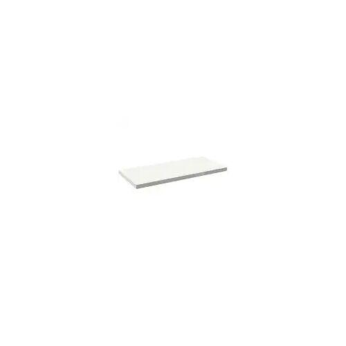 Alape Trägerplatte Firnis TP.FI600.1350, ohne Beckenausschnitt 135 x 60 cm A system init B: 135 T: 60 H: 5 cm weiß brillant (firnis) 8581609645