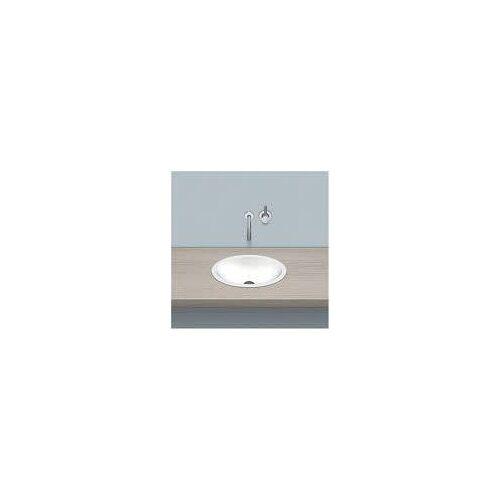 Alape Einbaubecken EB.O425, ovalförmig 42,5 x 32,5 cm Einbaubecken B: 42,5 T: 32,5 H: 10,6 cm weiß 2100100000