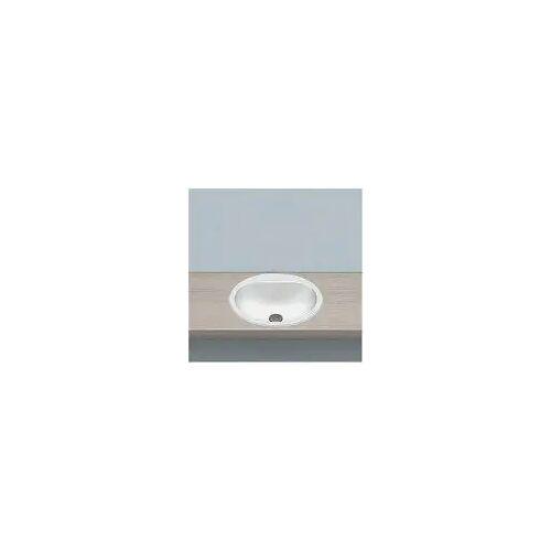 Alape Einbaubecken EW 3, kreisförmig mit 47,5 cm Ø Einbaubecken Ø: 47,5 H: 17,7 cm weiß 2005500000